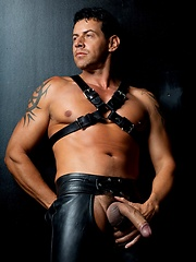porn pants Gay leather