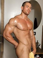 Beau is one huge hunk of muscle