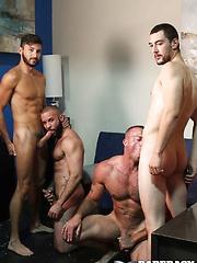 Sean Duran, Scott DeMarco, Chase Klein, and Fernando Del Rio
