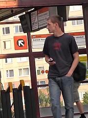 Czech Hunter 48. Czhech boy takes it up his ass.