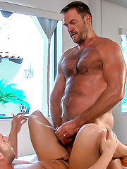 Say Uncle: Luke Adams gets Uncle Tony's cock up his ass! Featuring: Anthony London, Luke Adams
