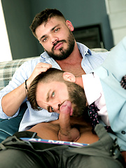 FOUND IN TRANSLATION. Porn Newcomer NICOLAS BROOKS with HECTOR DE SILVA